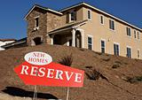 New Homes. Reserve Sign
