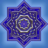 Octagon shaped ornament