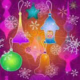 Christmas vivid pattern