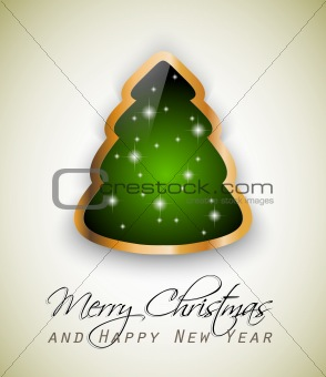 Classic Christmas Greetings background