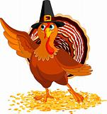 Thanksgiving Turkey presenting