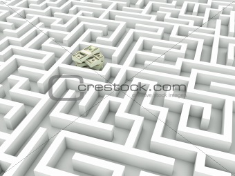 Cash in the maze