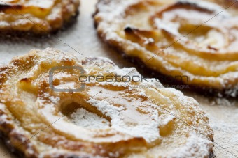 Apple Pies Close-Up