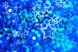 Blue festive background