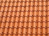 Tiled roof.