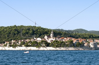 Croatian island of Korcula