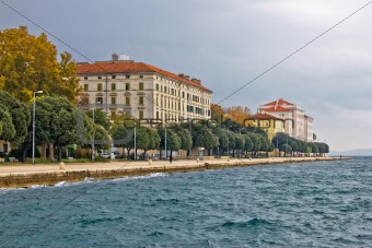 Beautiful Adriatic Town of Zadar waterfront