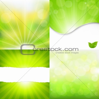 Green Nature Backgrounds