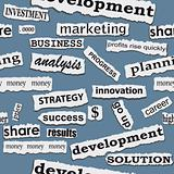 Seamless business paper torn piece background.