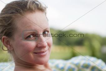Blond Turkish Lady