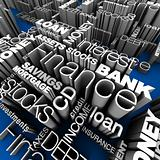 Financial Words 3D