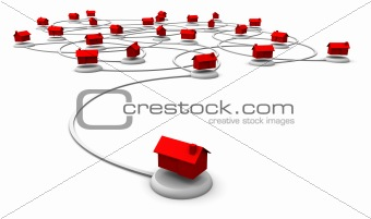 Web Network of Homes