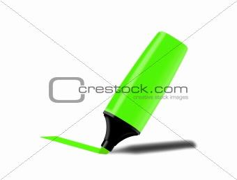 Green fluorescent marker