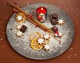 Christmas stollen decoration