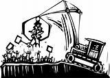 Protest Crane
