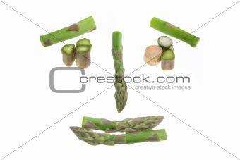 Asparagus Face