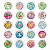 christmas coins clip art