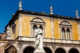 Dante square of Verone - Piazza Dante a Verona