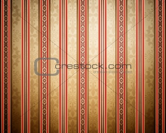Vintage background with stripes