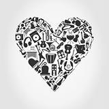 Musical heart3
