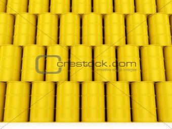 Oil Barrels Wall