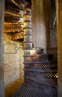 Old Iron Staircase