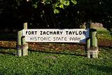Fort Taylor Sign