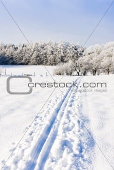 winter landscape, Czech Republic