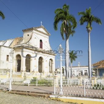 Iglesia Parroquial de la Santisima Trinidad, Plaza Mayor, Trinidad, Cuba