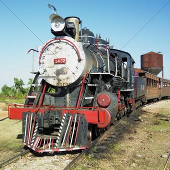 tourist train Valle de Los Ingenios, Trinidad, Sancti Spiritus Province, Cuba