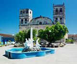 Nuestra Senora de la Asunción Cathedral, Parque Central, Baracoa, Cuba