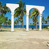 memorial of Christopher Columbus's landing, Bahia de Bariay, Holguin Province, Cuba