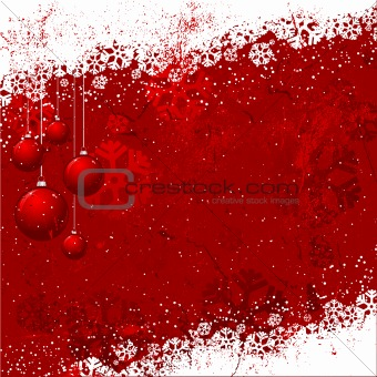 Grunge Christmas background