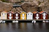 Swedish Fishing Huts