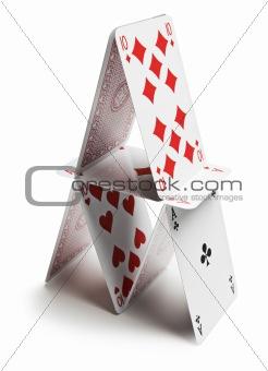 Cards pyramid