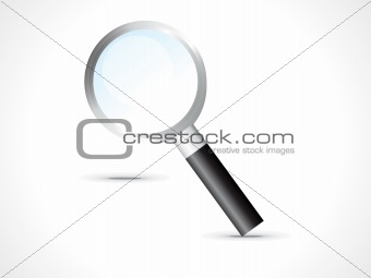 abstract search icon