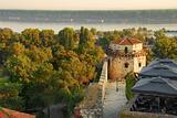 Belgrade fortress architecture details