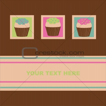 cakes card