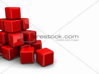 cubes heap
