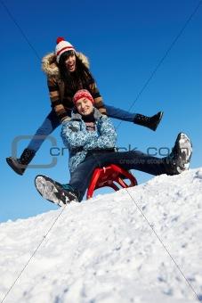 Winter lovers