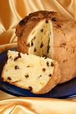 Panettone, italian Christmas cake