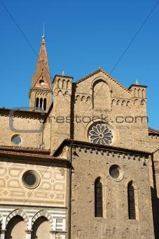 Church of Santa Maria Novella (side view) in Florence