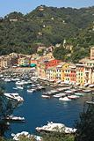 View on Portofino, Italy.