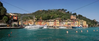 Panorama of Portofino.