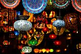 Colorful Arabic lanterns
