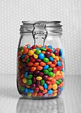 large jar of sweets
