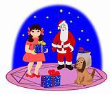 Gifts from Santa.