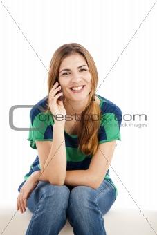 Calling someone