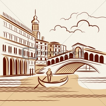 Venetian landscape