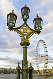 London Street Light Lamppost